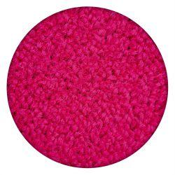 Tapete redondo ETON cor de rosa