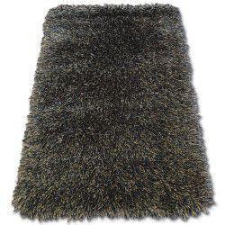 Ковер LOVE SHAGGY модель 93600 черный-коричневый