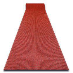 Придверный ковер на погонные метры LIVERPOOL 040 красный