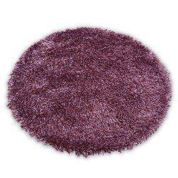 Love szőnyeg Shaggy kör minta 93600 ibolya