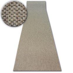 Sizal futó szőnyeg FLOORLUX minta 20433 coffee SIMA
