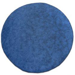 TAPIS cercle SERENADE bleu