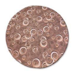 Drops szőnyeg kör barna