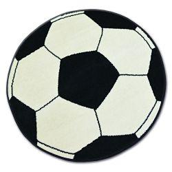 Ковер BCF BASE Мяч кремовый / черный 3943