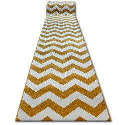 Runner SKETCH - FA66 gold/cream - Zigzag