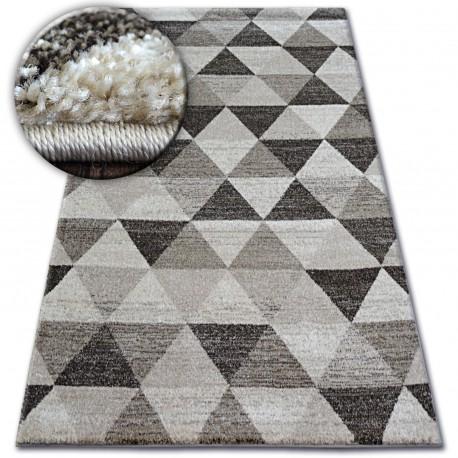 Matta SHADOW 636 l. beige / grädde - Triangles