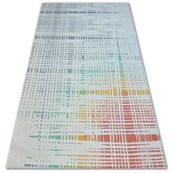 Carpet SCANDI 18216/063 - stripes checkered