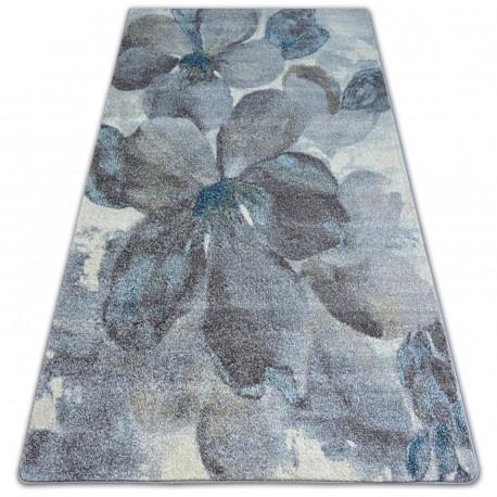 Matta NORDIC FLOWERS grå/brun FD291