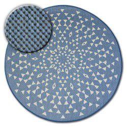 Tappeto cerchio DI SPAGO SIZAL FLAT 48715/591 VETRATA
