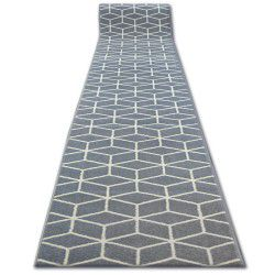 Runner BCF BASE 3956 CUBE grey SQUARES