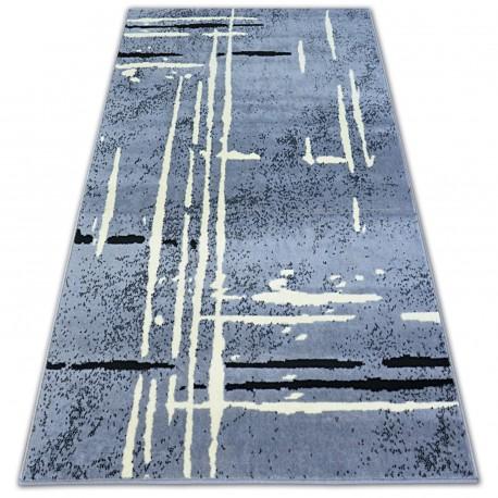 Matta BCF BASE FUZZY 3909 LINES grå/svart