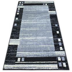Tappeto BCF BASE CHASSIS 3881 INQUADRATA grigio/nero
