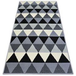Килим BCF BASE триъгълнициS 3813 триъгълници черно/сиво
