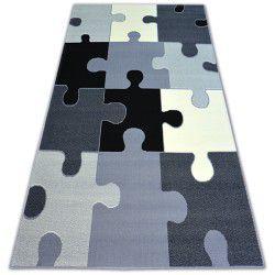 Tapis BCF FLASH PUZZLES 3973 gris