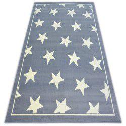 Alfombra BCF FLASH STARS 3975 Estrellas gris
