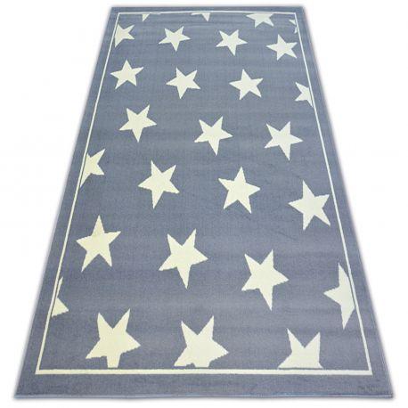 Tapete BCF FLASH STARS 3975 ESTRELINHAS cinzento