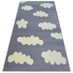Tappeto BCF FLASH CLOUDS 3978 NUVOLETTE grigio