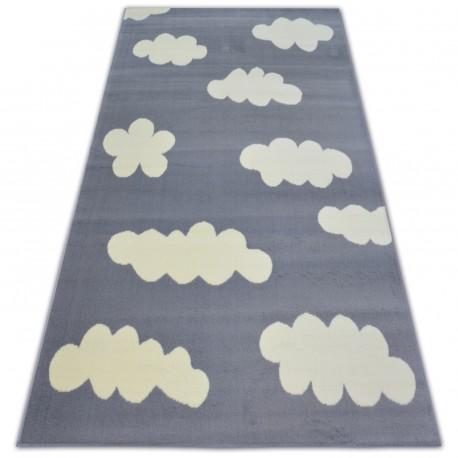 Tappeto BCF FLASH CLOUDS 3978 NUVOLETTE grigio