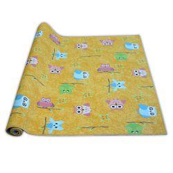 Wykładzina dywanowa dla dzieci OWLS żółty SOWY SÓWKI