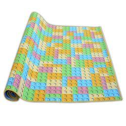 Wykładzina dywanowa dla dzieci KLOCKI L
