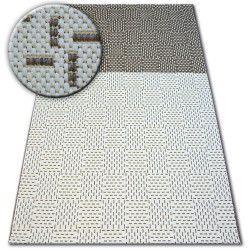 Teppich FLAT 48722/608 Zweifarben - creme braun