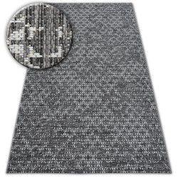 Tappeto DI SPAGO SIZAL LOFT 21145 BOHO avorio/argento/grigio