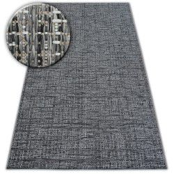 Fonott sizal szőnyeg LOFT 21126 KEVEREDÉS ezüst/elefántcsont/szürke