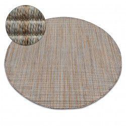 Kulatý koberec NATURE 90000 béžový SISAL BOHO