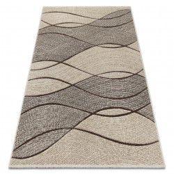 Feel szőnyeg 5675/15033 HULLÁMOK barna / bézs / szürke