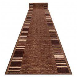 Csúszásgátló futó szőnyeg ADAGIO barna