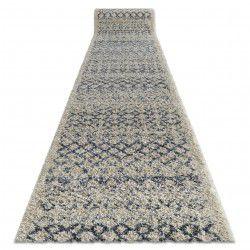 Běhoun BERBER AGADIR G0522, krémový, recyklovatelná bavlnavatelná bavlna Maroko, Shaggy