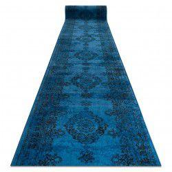 Chodnik Vintage 22206043 Rozeta niebieski