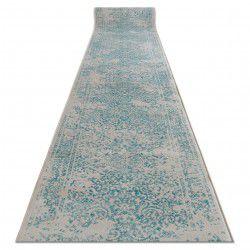 Tapis de couloir Vintage 22208054 turquois / crème