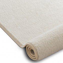 VELVET MICRO szőnyegpadló tejszínes 031 egyszerű, egyszínű