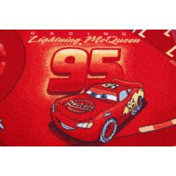 Detský koberec DISNEY CARS Auto, červená