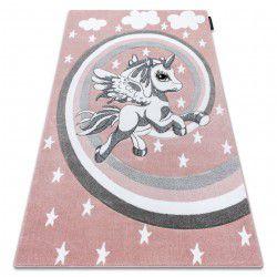 Kinderteppich PETIT PONY rosa