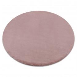 Covor BUNNY cerc roz