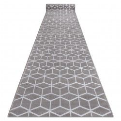 CHODNIK BCF ANNA Cube 2959 szary sześcian hexagon