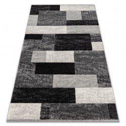 Carpet FEEL 5756/16811 RECTANGLES grey