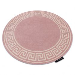 Kulatý koberec HAMPTON Grecos, Řecký růžový