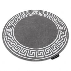 Kulatý koberec HAMPTON Grecos Řecký, šedý