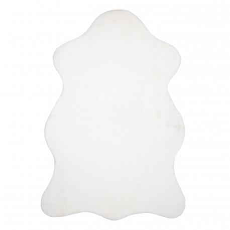 Dywan NEW DOLLY skórka G4337-4 biały IMITACJA FUTRA KRÓLIKA