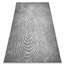 Koberec AKRYL YAZZ W8540 otisk prstů šedá