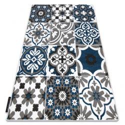 Tappeto ALTER Porto fiori blu