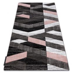 Teppich ALTER Bax Streifen rosa