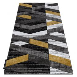 Tapis ALTER Bax des rayures or