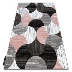 Teppich ALTER Geo Muscheln rosa