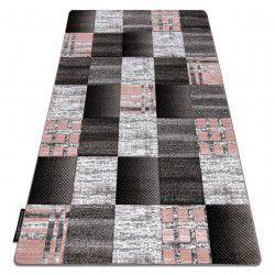 Tappeto ALTER Siena piazze traliccio grigio
