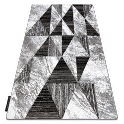 Koberec ALTER Nano trojuholníky sivá