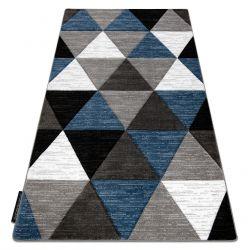 Tappeto ALTER Rino triangoli blu